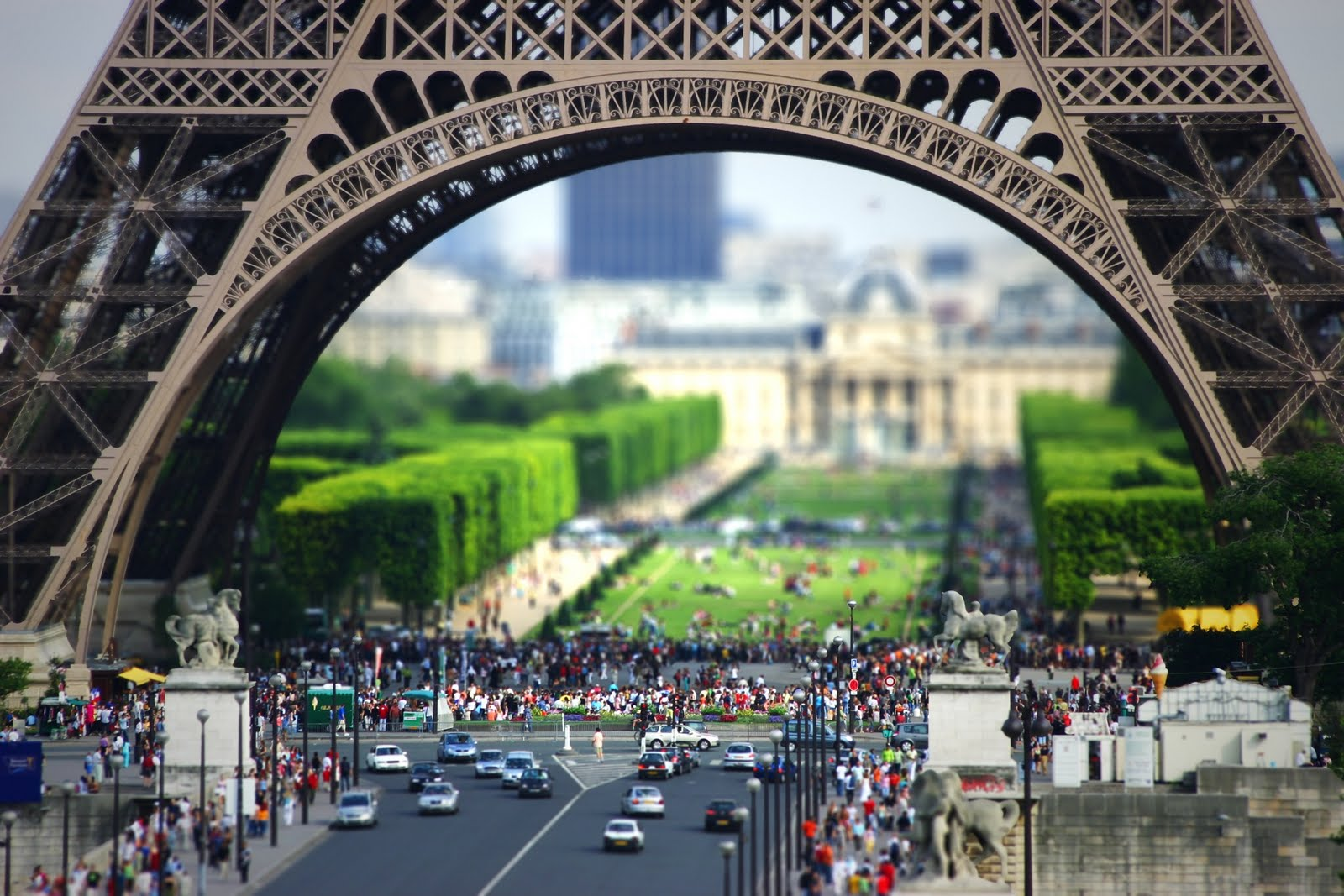 Examples Of Parabolas In Architecture Tilt shift Paris. : pi...
